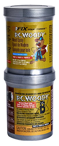 PC Products - 163337 PC-Woody Wood Repair Epoxy Paste, Two-Part...