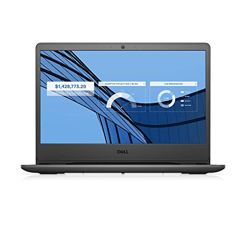 Dell Vostro 3401 14inch FHD Anti Glare 2 Side Narrow Border Display Laptop (10th gen i3-1005G1 / 4GB / 1TB / Integrated Graphics/ Win 10 + MSO/ Black) D552124WIN9BE