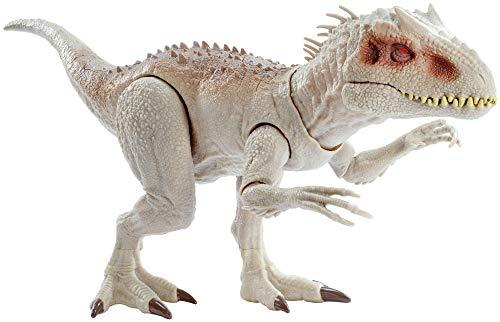 Jurassic World Indominus Rex Dinosauro con Luci e Suoni Giocattolo per Bambini, 4 + Anni, GCT95, Imballaggio Standard