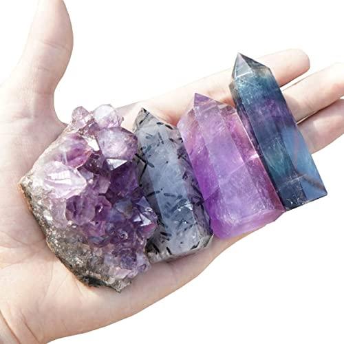 Mimosa Healing Crystal Wands,Mini Size Natural Crystal...