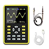 Digital Oscilloscope,KKmoon 5012H 2.4' LCD Display Screen Digital Oscilloscope Handheld Portable Digital Mini Scope Meter with 100MHz Bandwidth and 500MS/s Sampling Rate