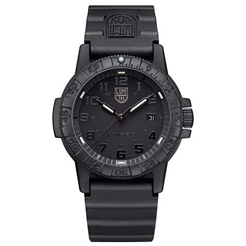 Luminox Herren Analog Quarz Uhr mit PU Armband XS.0321.BO.L