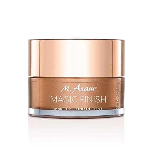 Magic Finish Make Up Mousse (30ml) - natürliches Make-Up für jeden Hauttyp - Passt sich jedem Hautton an