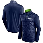 Material: 100% Polyester 1/4-Zip with overlay Lightweight jacket suitable for mild temperatures Mock neck Screen print graphics