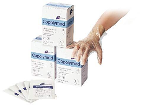 Meditrade 8092M copolyme indagine sterile guanto protettivo paio di modo, confezione sterile, senza...