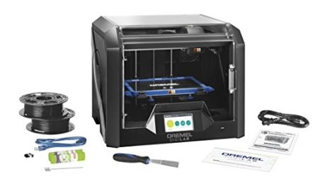Dremel-3D45-01-50-Micron-Direct-Driver-Filament-Extruder-3D-Printer-Model-Maker-with-Carbon-Filter-Built-In-Camera-and-Touch-Screen-Black