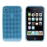 Logotrans Rhombus Series Coque pour Apple iPhone 3G/3GS Bleu Clair