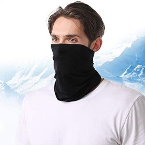 Laneco Cooling Technology Neck Gaiter for Men Women, Cools When Wet, UPF 50+ Face Cover