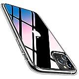 TORRAS iPhone 11 Pro用 ケース 9Hガラス背面 TPUバンパー 高透明 日本旭硝子製 滑り止め 黄変……