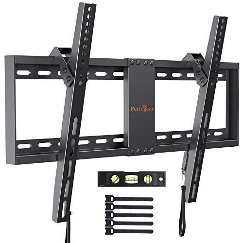 """Supporto TV inclinabile - Staffa da parete per TV da 37'-82"""", Max VESA 600x400, Staffa ultra resistente 60 kg"""