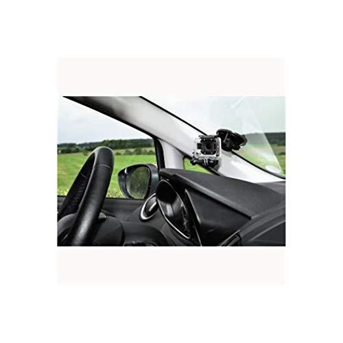 HAMA Supporto Universale a Ventosa per Action Cam, Compatibile con GoPro, Nero
