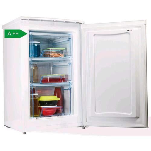 PremierTech Congelatore Verticale Freezer 68 litri -24gradi A++ 4**** Stelle 3 Cassetti PT-FR68