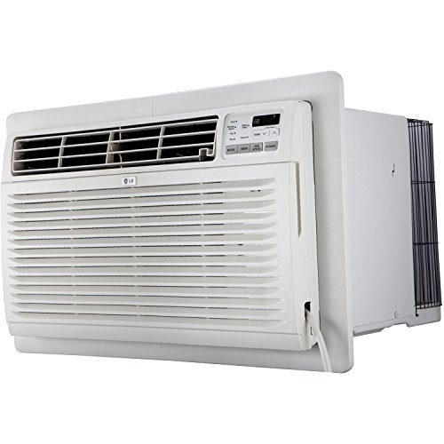 LG LT1236CER 11,500 BTU 230V Through-The-Wall Remote Control Air Conditioner, 11,500/11,800, White