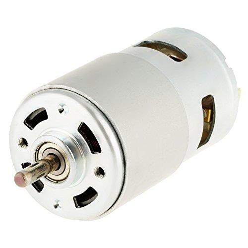 Motor eléctrico de micromotor de alta velocidad de 775, 12 V, 12000 rpm, para herramienta eléctrica