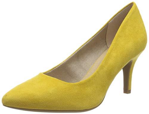 Marco Tozzi 2-2-22452-34, Zapatos de Tacón Mujer, Amarillo (Yellow 600), 39 EU