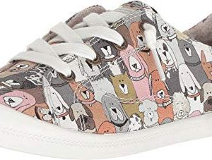 Skechers Women's Beach Bingo-Dog House Party Sneaker
