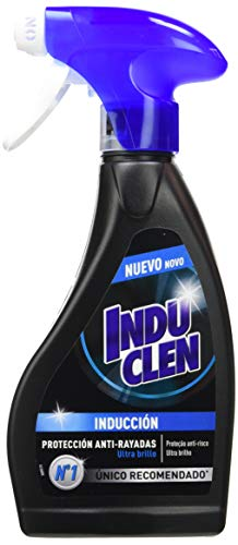 Induclen Limpiador de Inducción en spray, limpieza protección y brillo - Pack de 5 x 250 ml