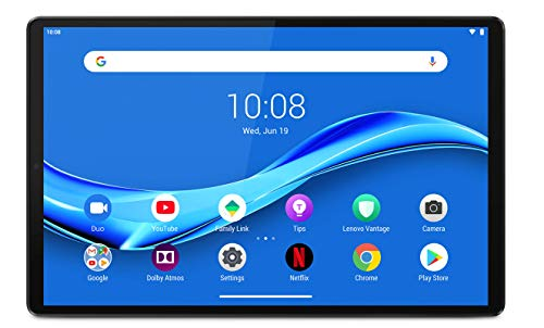 Lenovo Tab M10 FHD Plus (2nd Gen) Tablet - Display 10.3' Full HD (Processore MediaTek Helio P22T, Storage 64GB Espandibile fino ad 1TB, RAM 4GB, WiFi+Bluetooth, 2 Speaker, Android Pie) Grigio