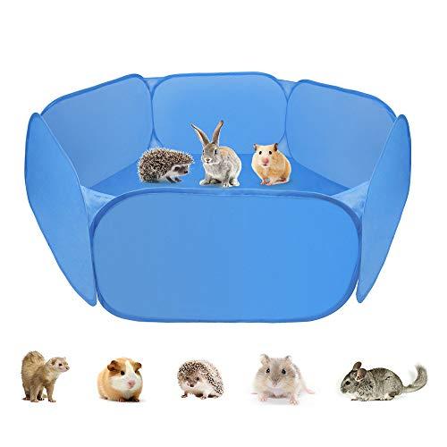 Zacro Tenda per Gabbia di Animali di Piccola, Box per Animali Portatile con Box per Piccoli Animali...