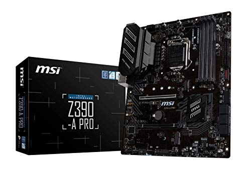 MSI Z390-A PRO ATX マザーボード [Intel Z390チップセット搭載] MB4617