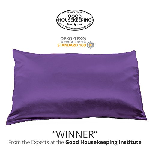 Fishers Finery 25mm 100% Pure Mulberry Silk Pillowcase Good...
