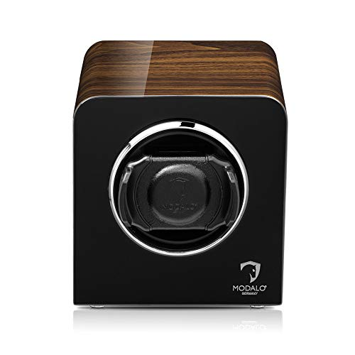 MODALO Uhrenbeweger (Watch Winder) Inspiration MV4 für 1 Uhr Walnut Design