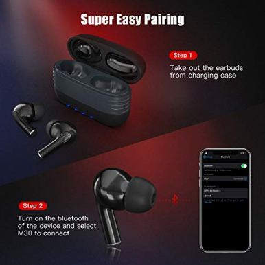 Wireless-Earbuds-Bluetooth-50-in-Ear-True-Wireless-Stereo-Headphones-Long-Playtime-Bluetooth-Earbuds-Built-in-Mics-IPX7-Waterproof-Smart-Touch-Control-Enhanced-Bass-Bluetooth-Earbuds-for-Sports-Work