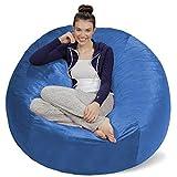 Sofa Sack Bean Bag Chair, 5 ft Sack, Royal Blue - Cover ONLY