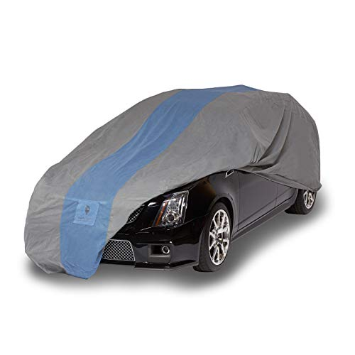 Duck Covers-A1SW200 Defender Station Wagon Cover for Wagons up to 16' 8',Gray/Light Blue, 200 Inch Length x 60 Inch Width x 60 Inch Height