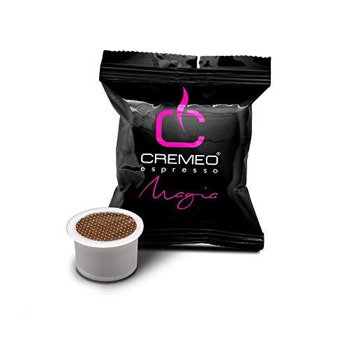Caffè Cremeo 100 Capsule Compatibili con Sistema FIOR FIORE, MITACA, LUI ESPRESSO, AROMA VERO Miscela Magia