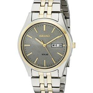 Seiko Men's SNE042 Stainless Steel Solar Watch 27