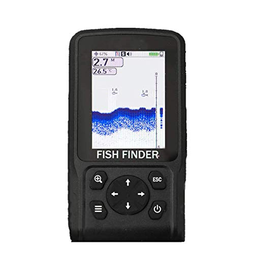 Fish FinderStrumento Di Pesca Portatile Con Display Per App Per Ecoscandaglio Con Ecoscandaglio IntelligentePortatile