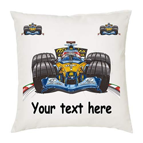 Funda de cojín Personalizada de Koolart Fernando Alonso Motor Racing Car GP
