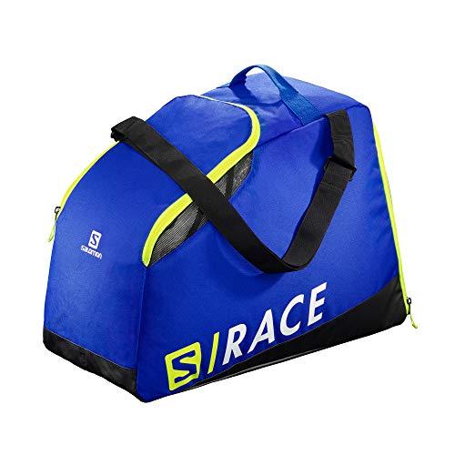 Salomon Extend Max Gearbag, Sacca Portascarponi Pratica e Spaziosa, Unisex Adulto, Blu (Race Blue)/Giallo Neon (Neon Yellow SCFL),