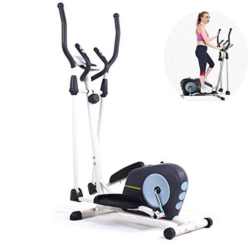 QLGRXWL Vélo elliptique Cross Trainer Vélo elliptique Cross Trainer 2 en 1 Vélo d'appartement Cardio Fitness Home Gym Equipmen