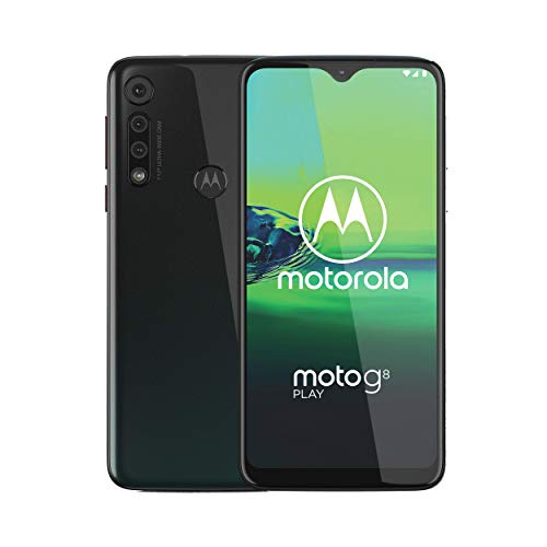Moto G8 Play | Unlocked | International GSM only | 2/32GB | 13MP Camera | 2019 | Gray