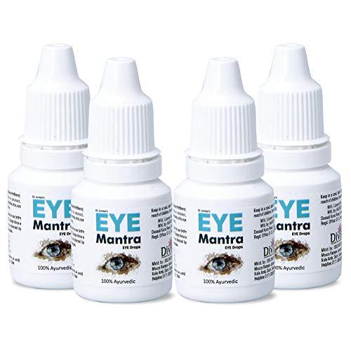 Eye Mantra Dr Juneja's Eye Mantra Ayurvedic Eye Drops 10ml, Pack of 4