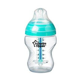 Tommee Tippee Advanced Anti-Colic Baby Bottle Feeding Set, Heat Sensing Technology, Breast-like Nipple, BPA-Free – 9 ounce, 1 Count