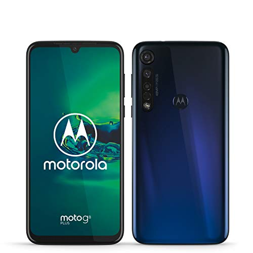 Motorola Moto G8 Plus (Pantalla de 6,3' FHD u-notch, cámara de 48 MP,...