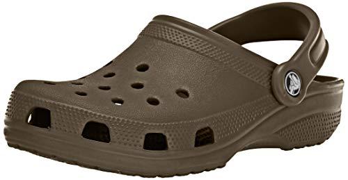 Crocs Classic Clog, Zuecos Unisex Adulto, Marrón (Chocolate), 45/46 EU