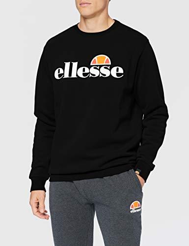 Ellesse SL Succiso Sweatshirt, Felpa Uomo, Nero, S