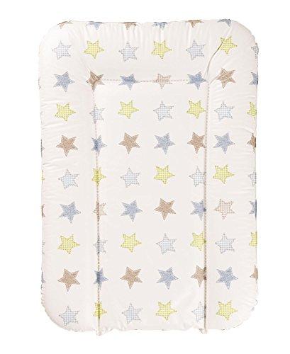 Geuther - Wickelauflage / Wickelmulde 5832, abwaschbar, geschweißt, mit Kopfschutz, 52 x 75 cm, Sterne
