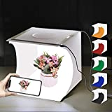 PULUZ Boîte à lumière de studio photo portable 20 x 20 x 20 cm Tente...