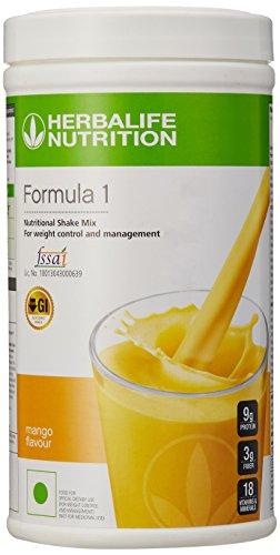 Herbalife Formula 1 Shake for Weight Loss (500 g,Mango)