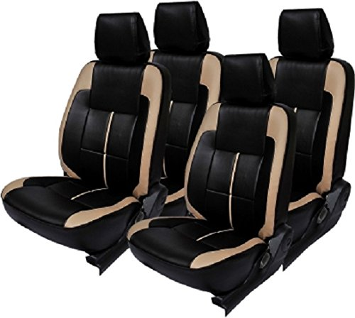 Khushal Car Seat Cover for Maruti Wagon R Front and Back Seat Covers Set