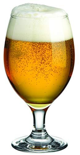 Bicchieri Da Birra | Stile Pub, Artigianato, Pilsner | Alta Qualità | Lavabile In Lavastoviglie | 400 CC | Set Di 6