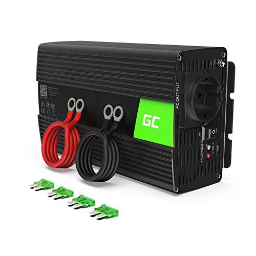 Green Cell® 1000W/2000W 12V 220V/230V Convertisseur Pur Sinus de Tension Volts Voiture Solaire...