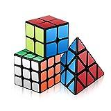 Vdealen Speed Cube Set, Ensemble de Cubes Magiques Roxenda Magic Cube de 2x2x2,...