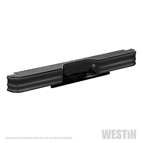 Fey 66001 SureStep Universal Black Replacement Rear Bumper (Requires Fey vehicle specific mounting kit sold separately)