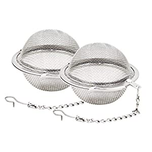 ❤❤Important Note for Built to Last❤❤ Please clean and keep dry after use ❤❤ Made of good quality 304 grade stainless steel, long lasting durability for a long time use. Get the job done and easy to clasp shut, brew your loose leaf tea with ease. The ...